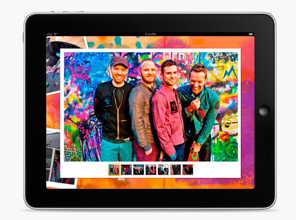 "Coldplay - ""Mylo Xyloto Live"" eBook"