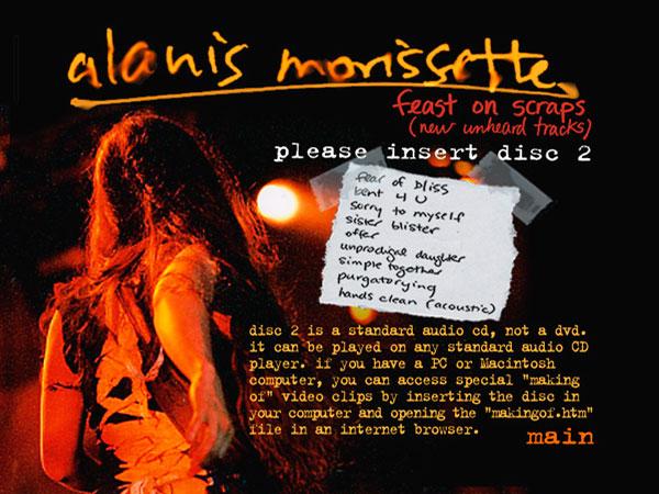 Alanis Morissette - Feast On Scraps eCD