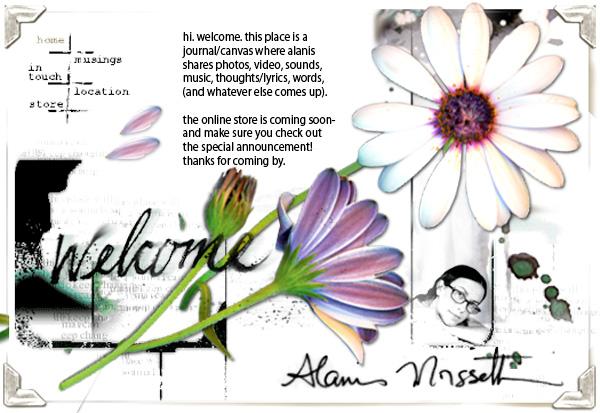 Alanis Morissette - Supposed Former Infatuation Junkie Website