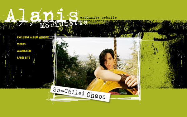 Alanis Morissette - So-Called Chaos eCD