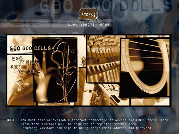 Goo Goo Dolls - EOAC eCD