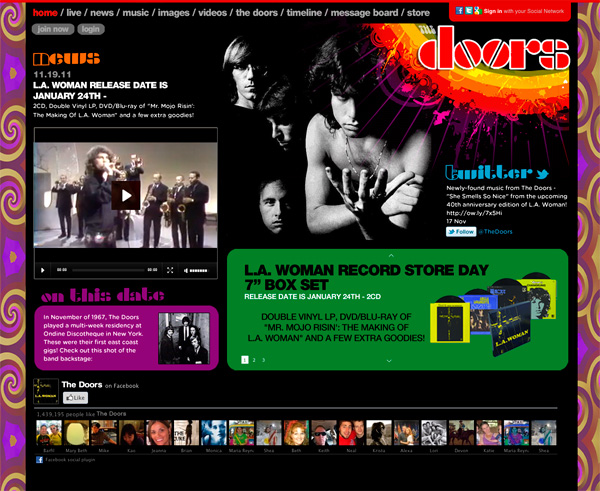 The Doors - Website