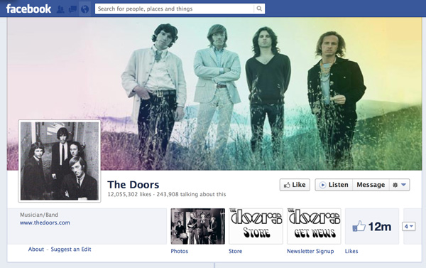 The Doors - Facebook
