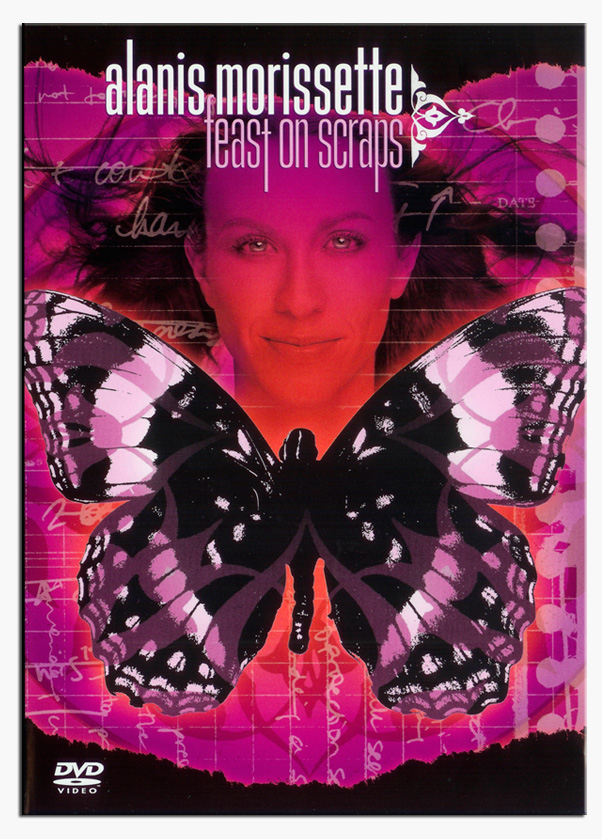 Alanis Morissette - Feast on Scraps DVD