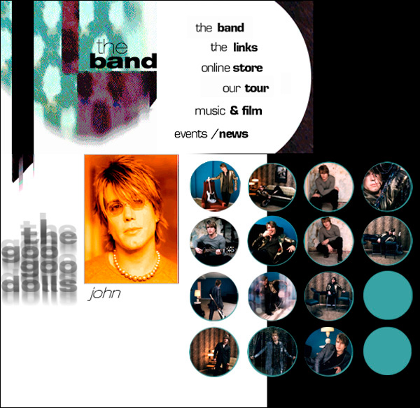 Goo Goo Dolls - Dizzy Up The Girl Website