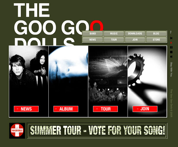 Goo Goo Dolls - Greatest Hits Site