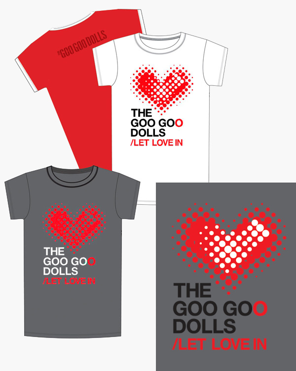Goo Goo Dolls - Let Love In Merchandise