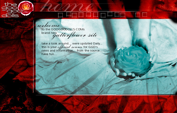 Goo Goo Dolls - Gutterflower Website