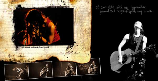 Alanis Morissette: Diamond Wink Tour Book