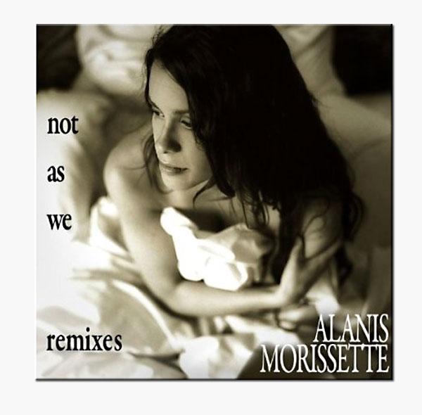 Alanis Morissette - Not As We Cover Artwork