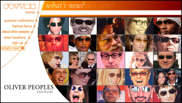 Oliver Peoples - Website