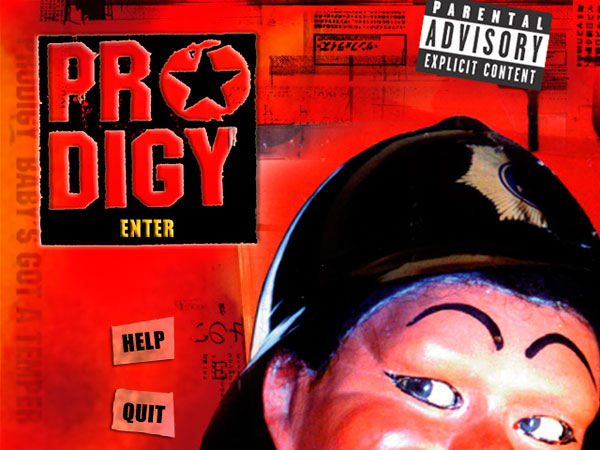 The Prodigy - Baby's Got A Temper eCD