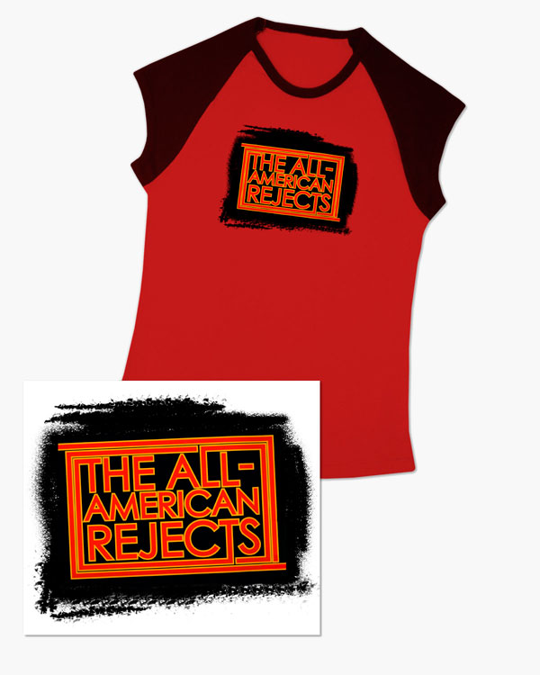 All American Rejects - Merchandise