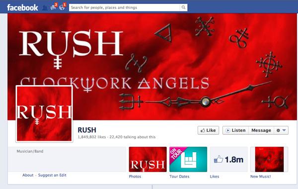 Rush: Facebook