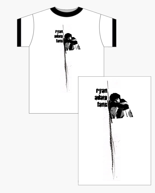 Ryan Adams - Merchandise Design