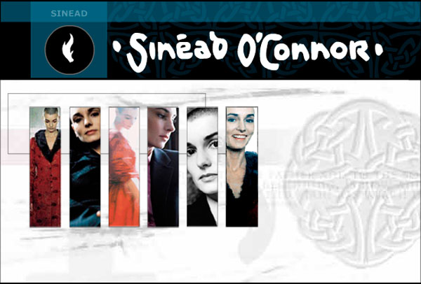 Sinead O'Connor - Faith and Courage Website