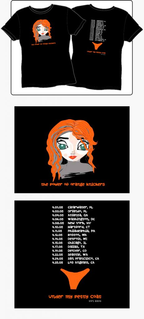 Tori Amos - Summer of Sin Tour Merchandise