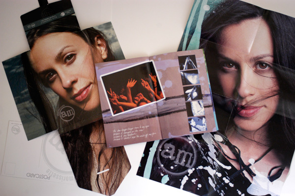 Alanis Morissette - Under Rug Swept Tour Book