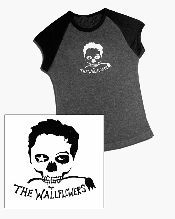 The Wallflowers - Merchandise Design